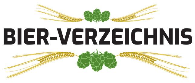 Bier Verzeichnis